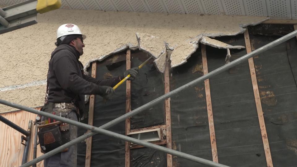 Rénovation à l'extérieure d'une maison