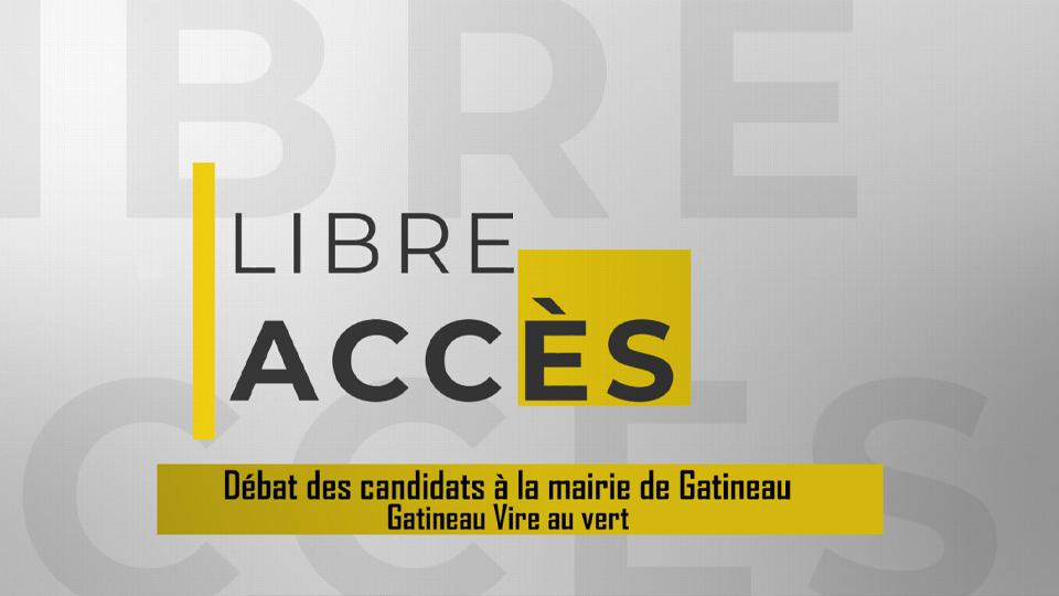 Débat candidats à la mairie de Gatineau