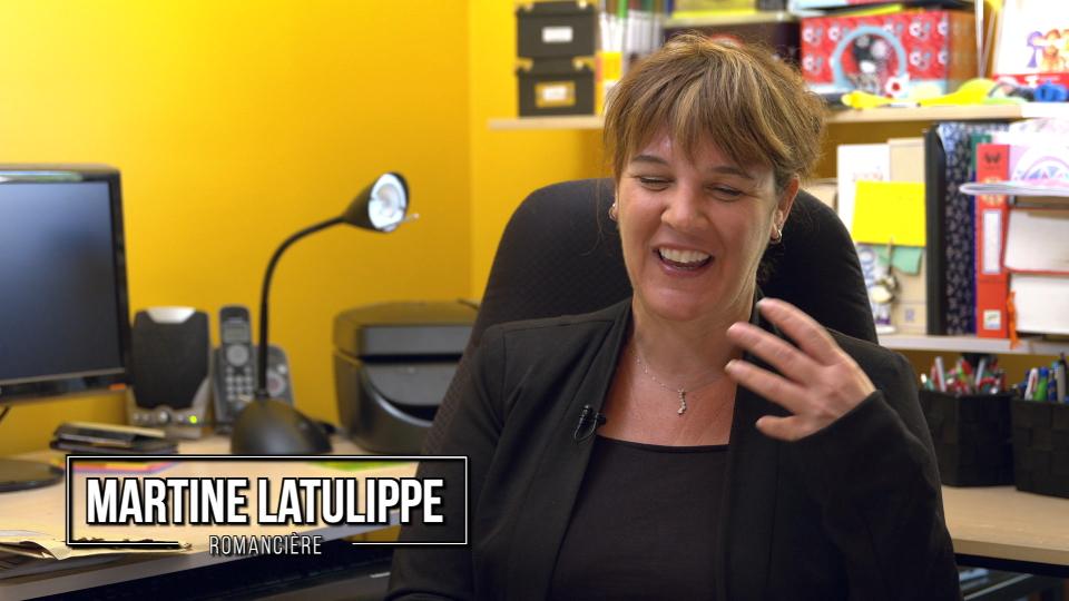 Martine Latulippe, romancière