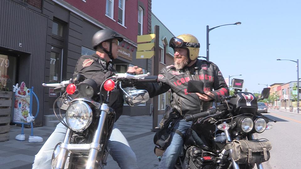 Souvenir d'une première expérience en moto