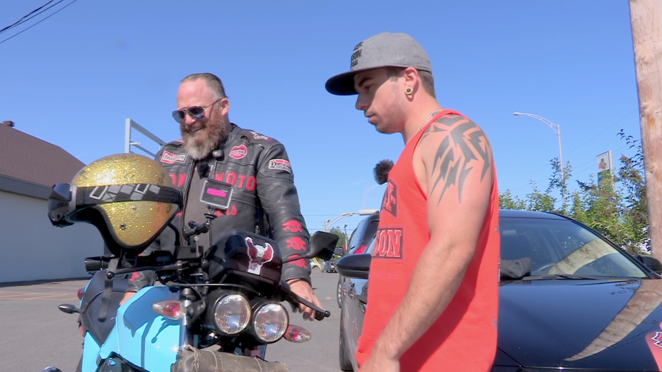 Jean-Philippe Chrétien passionné d'Harley