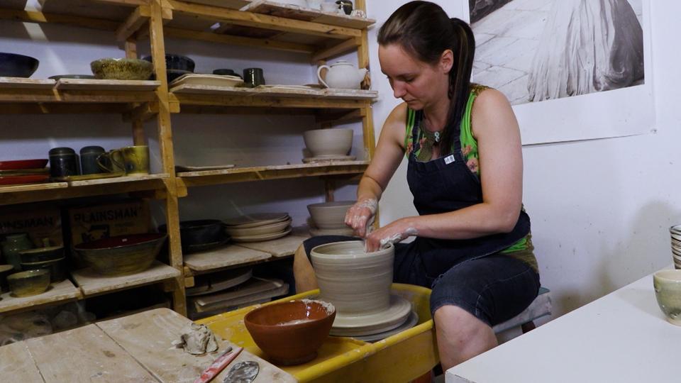 Emmanuelle Lessard, céramiste-sculpteur
