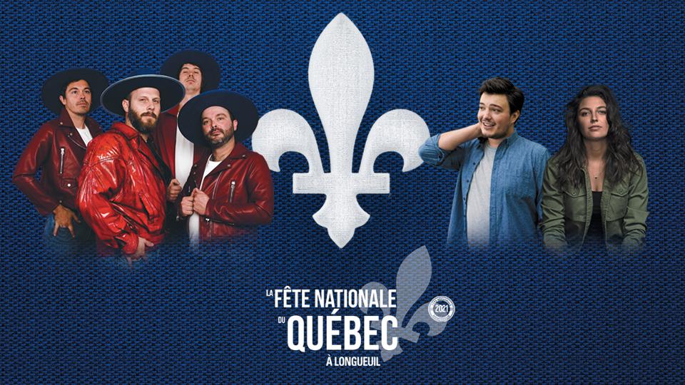 Spectacle de la Fête nationale à Longueuil