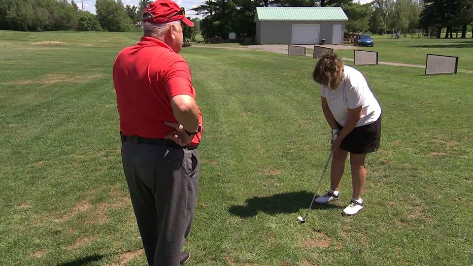 On parle de golf joué par des femmes