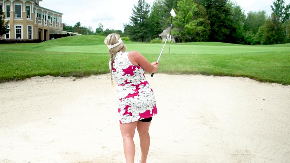Entraînement physique avec la balle de golf