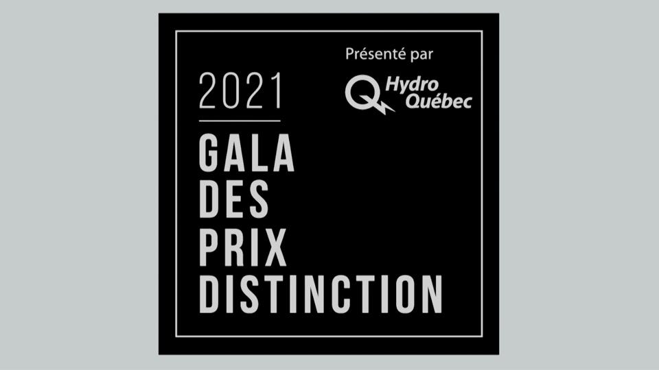Gala des Prix distinction 2021