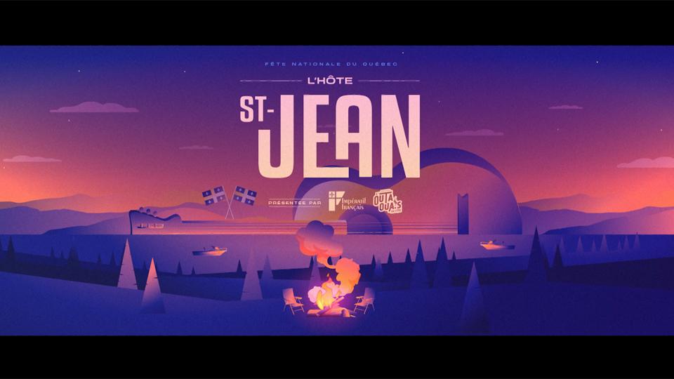 La fête nationale du Québec - L'Hôte Saint-Jean