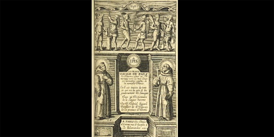 Gabriel Sagard  (1590-1640)