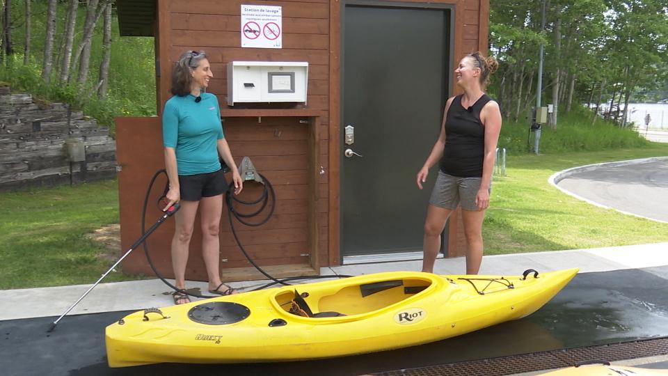 Le kayak de lac