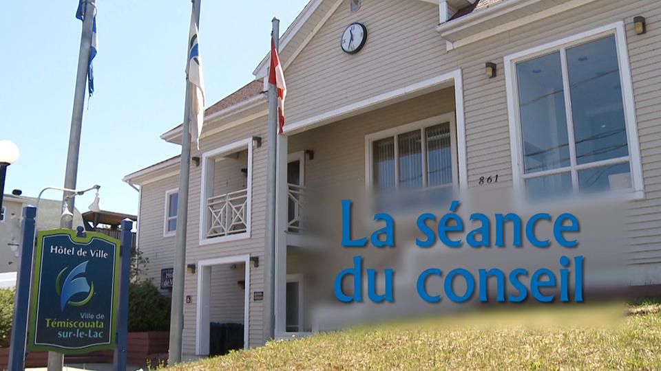 Conseil de ville de Témiscouata-sur-le-Lac