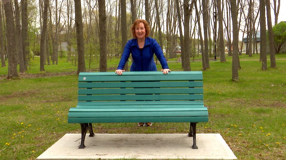 Entraînement dans un parc