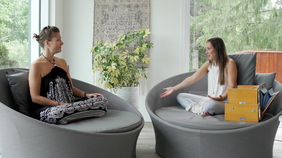La musique et le yoga du cœur de Myriam Turenne!