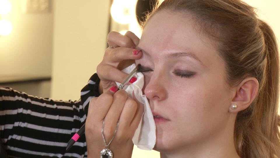Le maquillage charbonneux