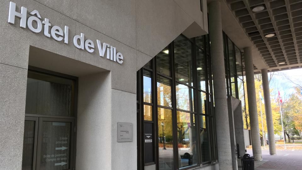 Séance du conseil de ville de Trois-Rivières
