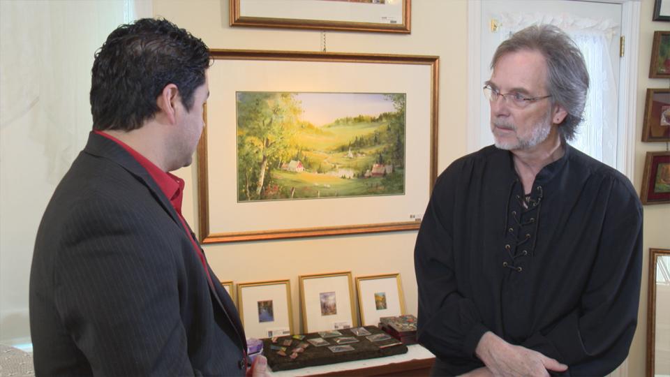 Jean-Yves Guindon, aquarelliste