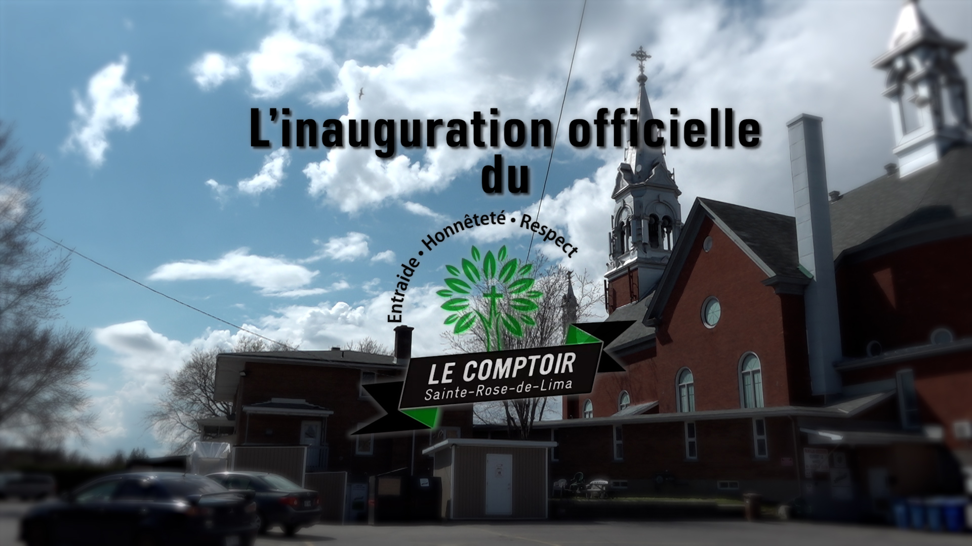 Inauguration du Comptoir Ste-Rose-de-Lima