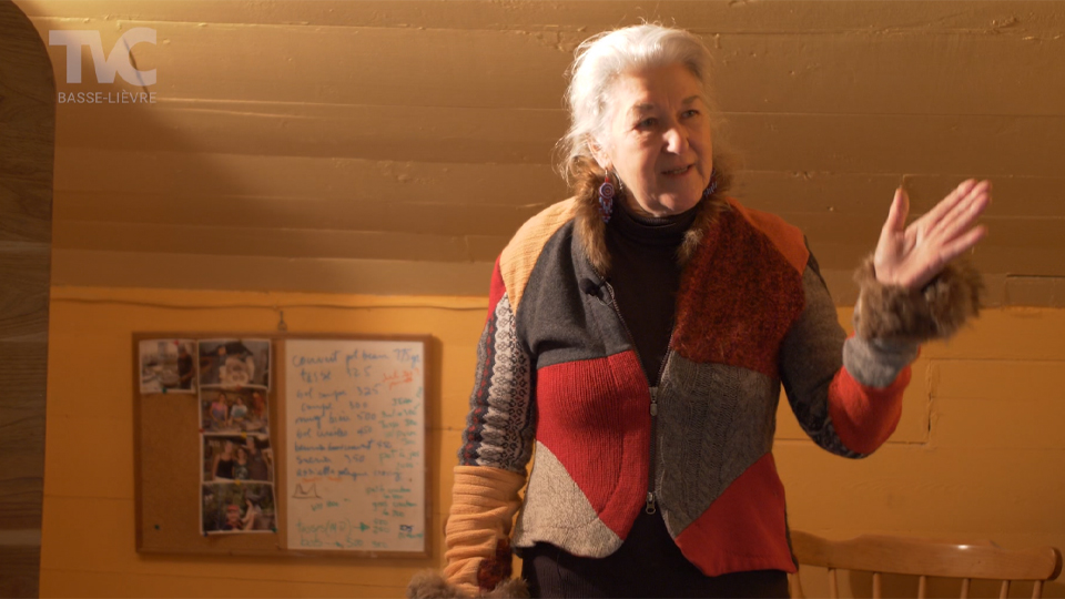 Les Terres d'Avallon & Denise Fournier
