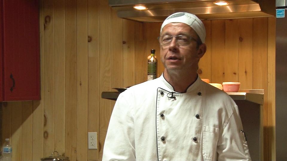 Courgette farcie au jambon blanc