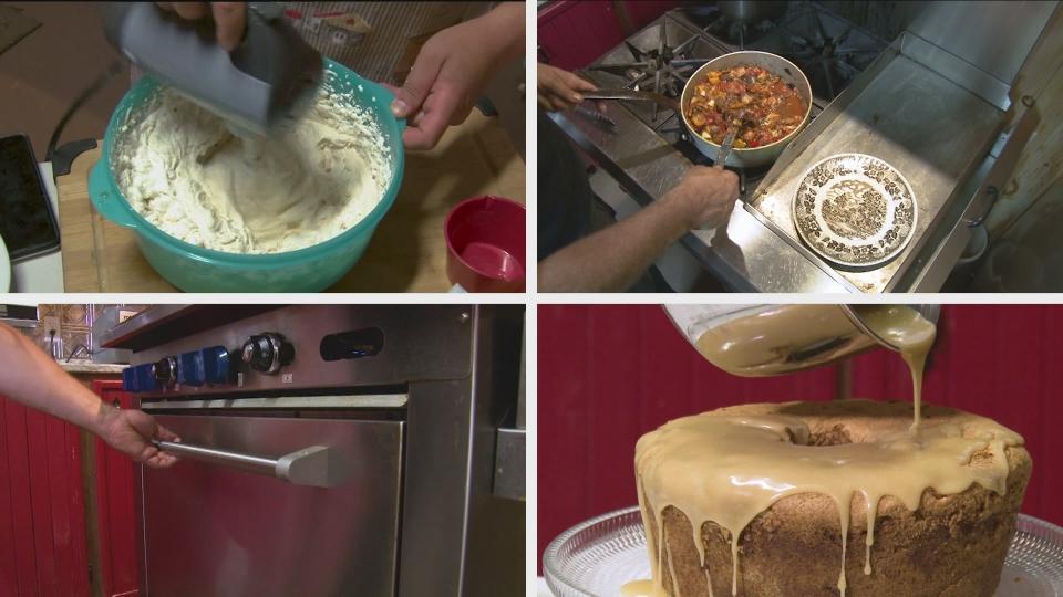 Gâteau aux tomates vertes