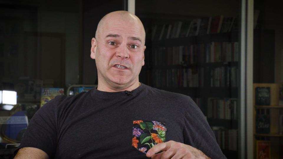Daniel Grenier, humoriste